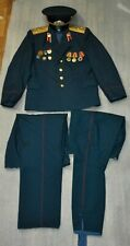 Set Uniform Officer Engineer lieutenant troops Soviet Russian Army USSR