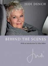 Judi - Behind the Scenes by Judi Dench Hardcover Intro by John Miller