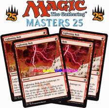 MTG 4 X LIGHTNING BOLT - Relámpago - MASTERS 25 ENGLISH Magic