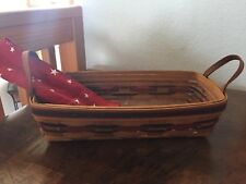 Longaberger Crisco American Baking Celebration Basket Trio/1993. Made In amweric