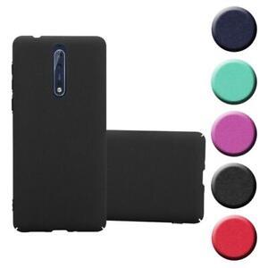 Funda para Nokia 8 2017 Cover Plástico Hard Case TPU Mate Cubierta