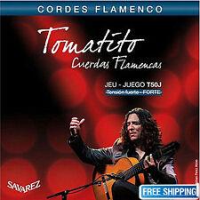 Savarez T50J Guitar Strings Tension Tomatito Cordes Flamenco FUERTE-FORTE Set