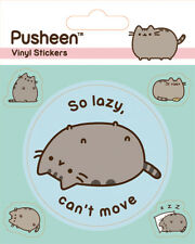 Pusheen (Lazy) 5 Vinyl Stickers Pack * OFFICIAL PRODUCT *
