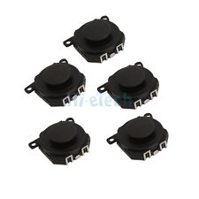 5x Analog Joystick Stick Button Repair Parts for Sony PSP 1000 1001 Black