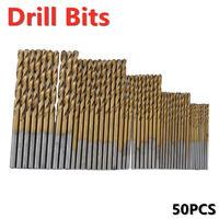 2.30mm Drill Bit HSS 135° Split Point Black /& Gold Jobber Drills 12pk USA Made