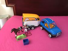Playmobil Country SUV with Horse Trailer 5223