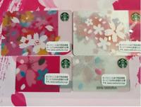 Starbucks Four kinds of 2016 Starbucks cherry tree cards