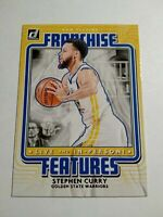 2020-21 Panini Donruss Stephen Curry Franchise Features basketball Card No. 10