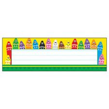 Desk Toppers Colorful 36/Pk 2X9