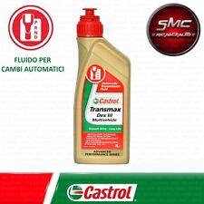 OLIO CASTROL TRANSMAX DEX III MULTIVEHICLE PER CAMBI AUTOMATICI 1 LITRO