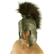 Spartan Helmet Greek Headwear Hat Adult Halloween Costume Accessory