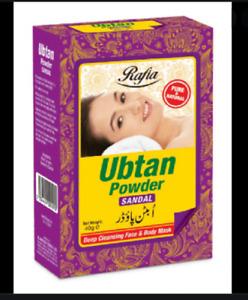 Ubtan Herbal Sandal Deep Cleansing Face & Body Mask Rose  Powder 40g