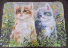 Badmatte mit Katzen-Motiv 40 x 60 cm Wattiert, saugstark und  rutschhemmend