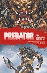 Predator The Essential Comics vol 1 trade paperback Dark Horse Comics 370 pages