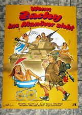 WENN ZACHY INS MONÖVER ZIEHT * Zachy Noy - A1-Filmposter - Ger 1-Sheet1982 DILL
