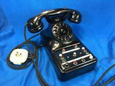 Telefono aziendale in bachelite SAFNAT - MILANO anni 60