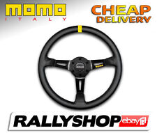 Momo MOD.08 Leather 08 Steering Wheel CHEAP DELIVERY WORLDWIDE race rally 350 mm