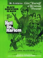 Hell Up in Harlem 1973 ORIGINAL Vintage 9x12 Industry Ad Fred Williamson
