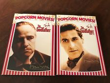 Popcorn Movies! The Godfather Part I and Ii New in Package Rated R