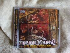 7 Deadly Sins 2 CD horrorcore compilation Mars Q Strange KGP Hopsin Twiztid ICP