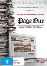 Page One - Inside The New York Times (DVD, 2011)