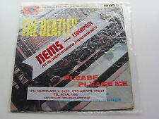 THE BEATLES PLEASE PLEASE ME 1963 UK LP NO DATE   EXCELLENT VINYL  NEMS BAG