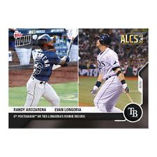 Randy Arozarena / Evan Longoria - MLB TOPPS NOW® Card 420 6th Post Season HR