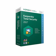 Kaspersky Total Security 2017 5 Device 1 Year Box