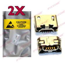 2 X New Micro USB Charging Sync Port For CATERPILLAR CAT S50c B15 B10 USA