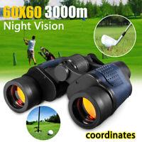 60X60 Zoom Day/Night Vision Outdoor HD Binoculars Hunting Telescope