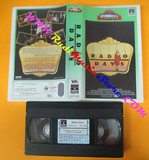 VHS film RADIO DAYS Woody Allen WINNERS COLUMBIA CVT 21255 (F24) no dvd