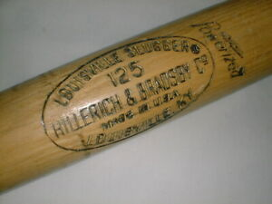 """35"""" Old JACKIE ROBINSON Vintage R17 LOUISVILLE SLUGGER 125 BROOKLYN  LA DODGERS"""