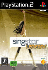 SingStar Legends (PS2) VideoGames