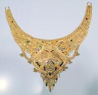 22k Gold Choker Necklace fine jewelry 12079