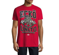 ECKO UNLTD. AUTHENTIC MEN'S CREW NECK SHORT SLEEVE RED T-SHIRT SIZE L