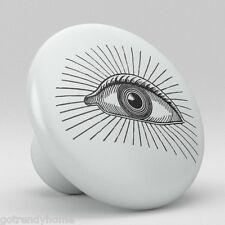 Eye Design Ceramic Knobs Pulls Drawer Cabinet Vanity Closet 867 Furniture Door
