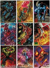 1995 MARVEL MASTERPIECES SERIES IV 4 FLEER COMPLETE CARD SET #1-151 X-Men