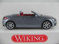 Wiking 013438 Audi TT Roadster (2007) in avussilber metallic 1:87/H0 NEU/OVP