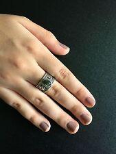 Ring Bohemian Silver Labradorite Hippie Boho Gypsy Folk Cuff Tribal R1022