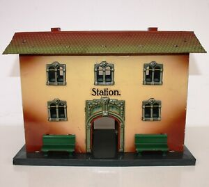 Kraus-Fandor Bahnhof 2040/1 aus Blech (Baujahr 1926-1934) Spur 0