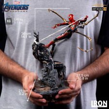 Iron Studios 1:10 Spider Man Fight Molding Statue The Avengers End Game Figure