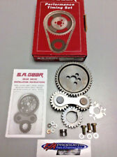 Small Block Chevy 283 350 Engines Quiet Gear Drive Timing Kit S.A. GEAR 78400Q