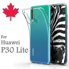 For Huawei P30 Lite Case - Clear Thin Soft TPU Transparent Silicone Cover