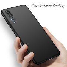 Huawei P20 Pro Case Ultra Thin Slim Profile Hard Cover Shockproof Smooth Black