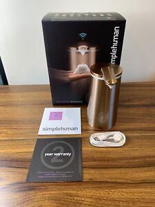 Simplehuman 10 oz Touch-Free Auto Foam Sensor Soap Pump in ROSE GOLD