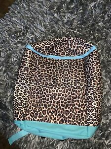 Leopard/Cheetah insulated backpack cooler