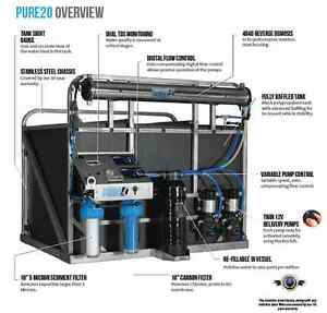 Pure2o Proteus 600 Litre Reach & Wash System