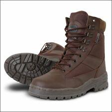 Kombat Patrol Cadet Boot - Half Leather Half Cordura - Brown