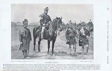 JACOBS HORSE 6th Bombay Cavalry - Antique Photographic Print 1896