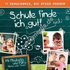 CD: SCHULE FINDE ICH GUT! - Ideal für Schultüte Schulanfang o. Grundschule °CM°